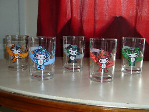 Many different glasses for sale