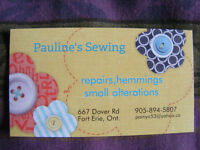 """SEWING """" PAULINE'S SEWING"""" in Fort Erie"""