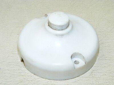 Old Switch Light Switch Ap Button, Art Deco Loft Door Bell