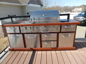 "Barbecue Grill - Cherry Hill Model ""SOLD"""