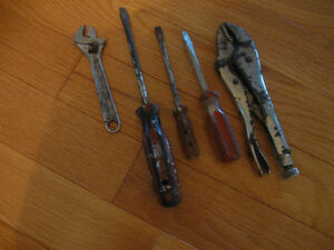 "5 SMALL HAND TOOLS YOU""LL FIND HANDY for SPARES"