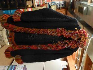 LADIES 32' LONG WOOL SWEATER COAT