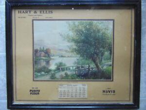 1931 Meaford Merchant Calendar