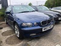 BMW 3 Series 2.0 320td SE Compact 3dr | Automatic