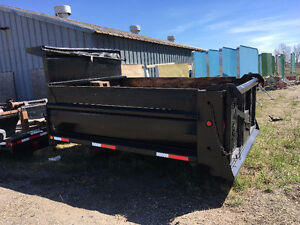 Single Axle Dump Box