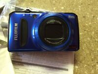 Fujifilm FinePix F500EXR Blue 16 MP CMOS Digital Camera