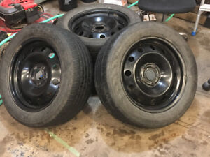 17 Inch Rims and Tired for Kia or Hyundai