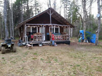 Hunting camp for sale 10 000.00$ FIRM