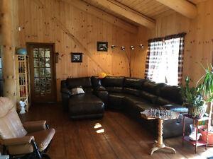 Maison en bois rond à vendre 120, ch. des Patriotes, Ste-Monique Lac-Saint-Jean Saguenay-Lac-Saint-Jean image 10