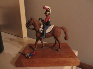 Metal Miniature British Soldier on Horseback Peterborough Peterborough Area image 1