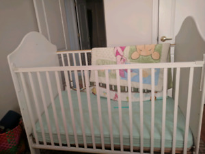 Baby crib 2 in one