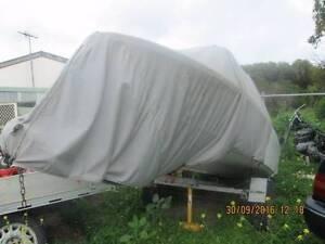 boat fiberglass with tilt trailer O'Halloran Hill Marion Area Preview