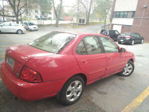 2005 Nissan Sentra for Sale (low kms)