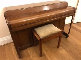 (SOLD stc) Kemble Upright Piano, MinxMiniature