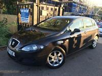 SEAT Leon 1.6 Reference Black 5 Door Alloys Long MOT Cambelt Changed Finance Ava