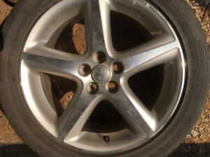 Toyota and VW 18 inch alloy wheels