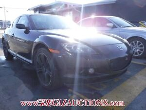 2004 MAZDA RX-8 GS 4D COUPE GS