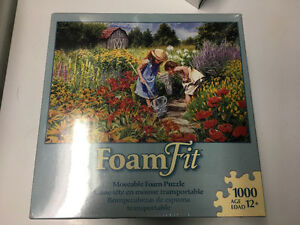 1000 piece foam puzzle, new