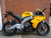 APRILIA RS4 125 2015 BLACK YELLOW NOT YZF CBR