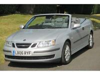 Saab 9-3 2.0t auto 2006MY Linear AUTO/Convertible/23000 Miles