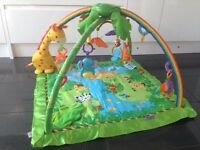 Fisher-Price Rainforest Melodies and Lights Deluxe Baby Gym