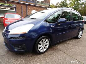 Citroen C4 Grand Picasso 1.6 HDI VTR+ EGS 110HP (LOW RATE FINANCE AVAILABLE) (blue) 2008
