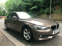 BMW 320d EfficientDynamics 4dr-36K FSH-LEATHER-SAT NAV-2 KEYS LOVELY CAR