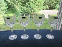 4 Marquis by Waterford Crystal Goblets *NEW*