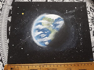 Acrylic Earth Painting Canvas Board 8x10