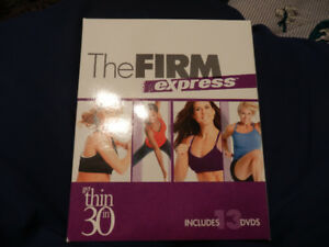 THE FIRM DVD EXERCISE KIT