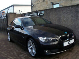 """08 58 BMW 320D COUPE SPORT SE TURBO DIESEL 2DR FULL LEATHER+18"""" ALLOYS LOW TAX"""