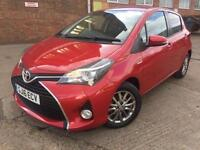 Toyota Yaris 1.33 VVT-i ( TSS ) 2016 Icon Red Manual 6k Miles only CAT D REPAIR