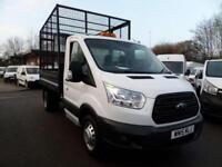 Ford Transit T350 MWB 2.2 Tdci Tipper With Cage 125Ps DIESEL MANUAL (2015)