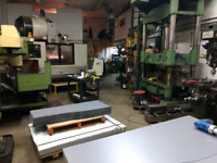 Stamping 4 post hydraulic press