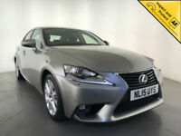 2015 LEXUS IS 300H EXECUTIVE EDITION AUTOMATIC 1 OWNER SERVICE HISTORY FINANCE