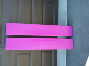 Set of 2 hot pink coloured tall cardboard boxes Brand new London Ontario image 3