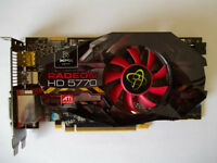 XFX Radeon HD 5770 1GB 128-Bit DDR5 PCI Express 2.0 VIDEO CARD