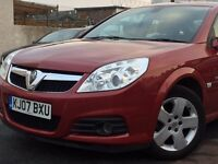 2007(07) VAUXHALL VECTRA DESIGN 1.9CDTi*150 BHP*HALF LEATHER*FULL SERVICE HISTORY*HPi CLEAR*LONG MOT