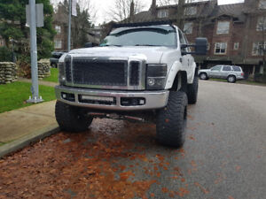 Lifted 2008 Ford F-250 Lariat