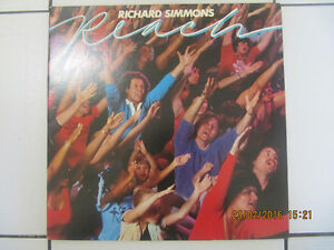 Classic Richard Simmons Reach Exercise  LP Like New Circa 1982