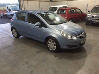 07 Reg Vauxhall corsa 1200cc Mett 5 dr ideal first car CHEAPEAST in country