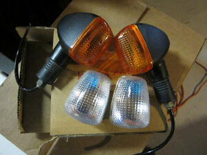 2003 SUZUKI KATANA REAR TURN SIGNAL LENSES.