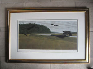 Alex Colville: Seven Crows Fine Art Limited Edition Reproduction