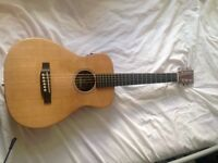 Martin LX1E Electro Acoustic guitar, Ashton AEA15 Amplifier, Boss RC-3 Loop Pedal