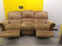 """Three seater electric recliner """"FREE LOCAl DELIVERY """""""