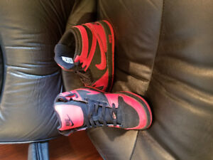 High Top Nikes Gently Worn