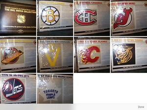 NHL complete Willabee and Ward hockey patch set London Ontario image 4