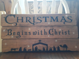 Custom Christmas Signs or Non Holiday Signs