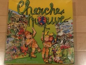 Cherche - Trouve (hide & seek) for age 5+