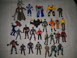 Action Figure Lot for Sale